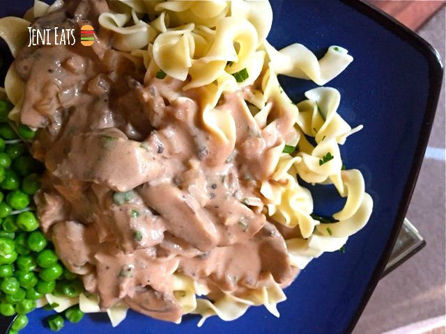 Our Favorite Beef Stroganoff Jeni Eats