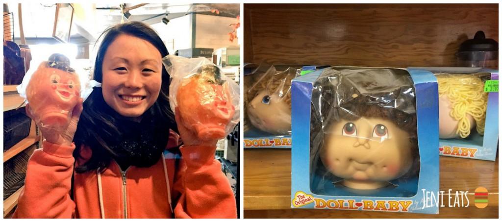 Doll Head Belmont Collage