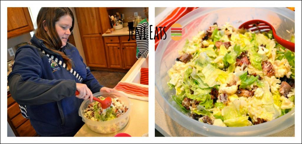 Val Salad Collage