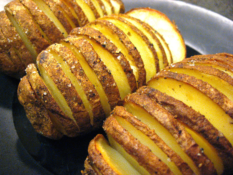 Grilled Hasselback Sweet Potatoes With Rosemary And Garlic Recipes ...